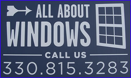 Call All About Windows at 330-815-3283